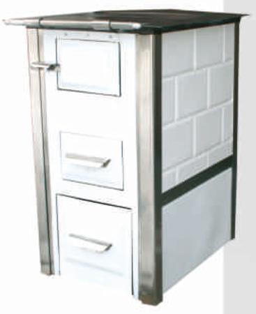 92238162 Kuchnia kaflowa, angielka 7,5kW Mini, bez płaszcza wodnego