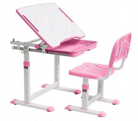 Biurkosa Biurko i krzesełko dziecięce Pink 11976311
