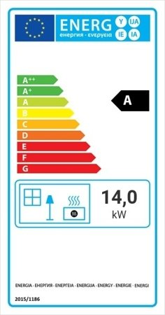 DOSTAWA GRATIS! 30063876 Wkład kominkowy 14kW Lucy BS (prawa boczna szyba bez szprosa) - spełnia anty-smogowy EkoProjekt
