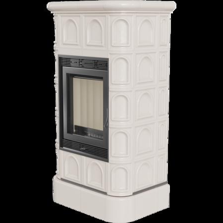 KONS Piec wolnostojący 8kW (kolor: kafel krem) - spełnia anty-smogowy EkoProjekt 30060531