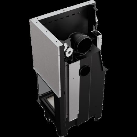 KONS Wkład kominkowy 12kW VN 700/480 BS Gilotyna (prawa boczna szyba bez szprosa, drzwi podnoszone do góry) - spełnia anty-smogowy EkoProjekt 30072661