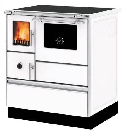 Kuchnia wolnostojąca, angielka na drewno, węgiel 6kW, bez płaszcza wodnego (kolor: biały) 27772890