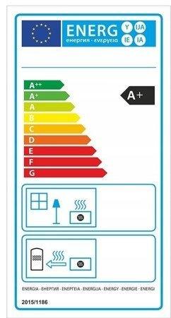Piec wolnostojący 8kW (kolor: pistacjowy) - spełnia anty-smogowy EkoProjekt 99672978
