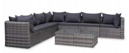 SEDEN Sofa ogroda ze stolikiem, meble ogrodowe 22778047