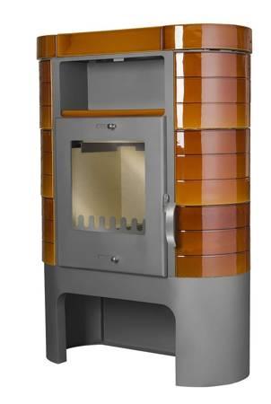 TOPGAR Piec kaflowy 7,2kW brąz (średnica wylotu spalin: 150 mm) - spełnia anty-smogowy EkoProjekt 19877507