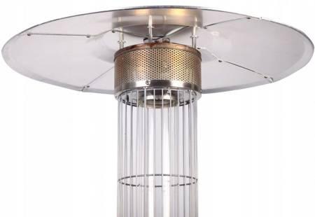 VIPGAR Promiennik parasol gazowy 14KW tarasowy + pokrowiec 19577468