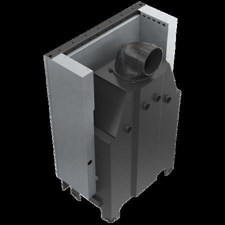 Wkład kominkowy 15kW MBO 15 Gilotyna (szyba prosta, drzwi podnoszone do góry) - spełnia anty-smogowy EkoProjekt 30053245